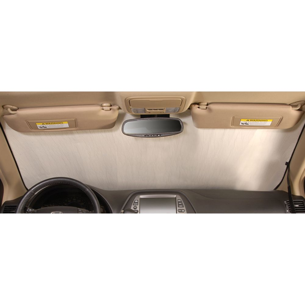 Intro-Tech Gold Car Sunshade Windshield For Acura 2009